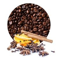 Coffee Arabica Flavored `Christmas Pomander'
